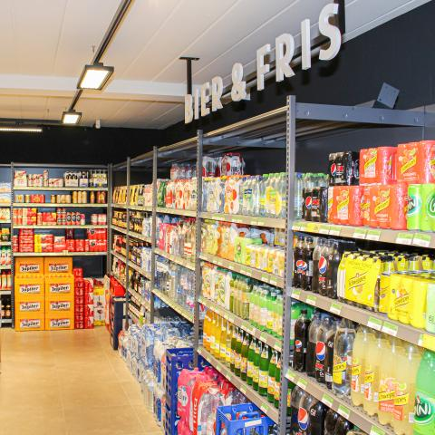 Lambrechts Spar supermarkt beginnen – wijnen