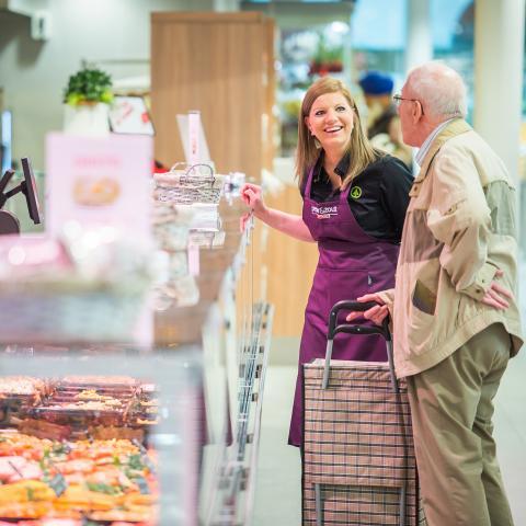 Lambrechts Spar supermarkt beginnen – service