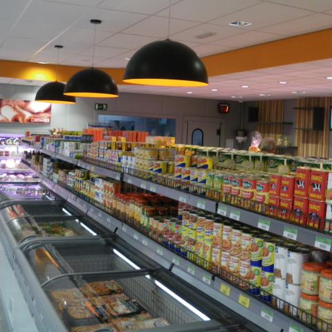 Lambrechts Spar supermarkt beginnen – gamma