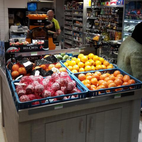 Lambrechts Spar superette beginnen – vers fruit