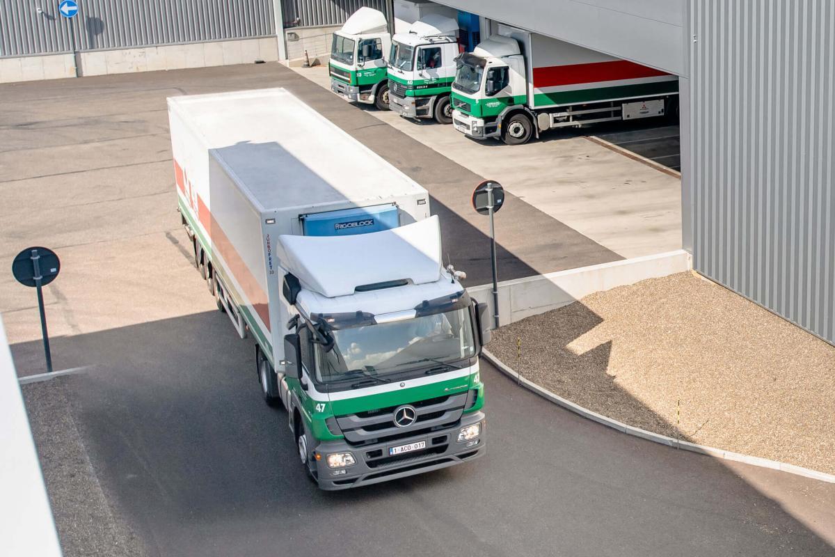 Ouvrir un magasin Lambrechts Spar – camionnettes livraison