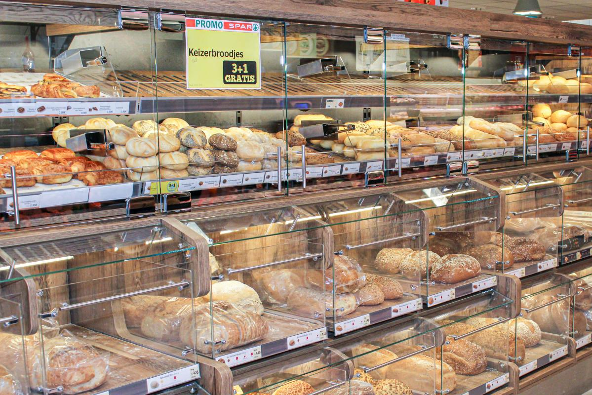 Lambrechts Spar winkel beginnen – warme bakker