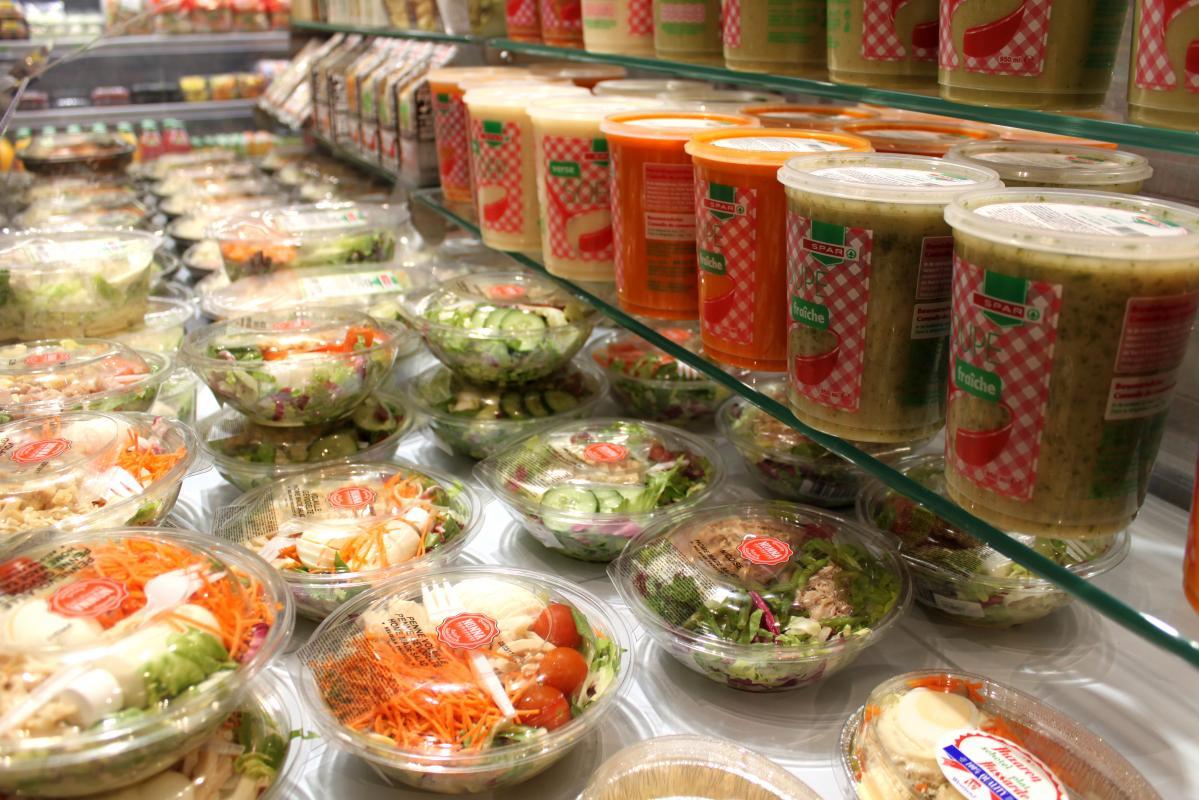 Lambrechts Spar supermarkt beginnen – versafdeling